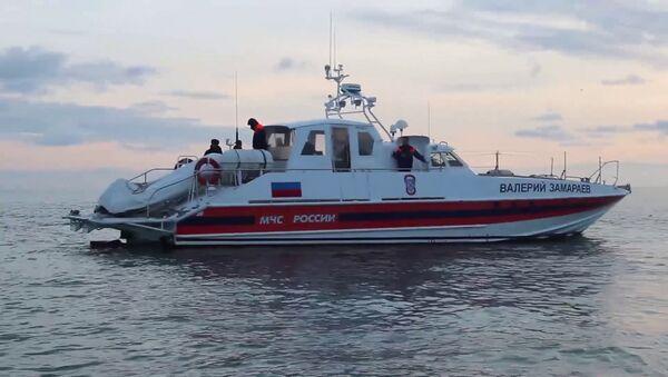 Search operations underway after Tu-154 crash in Black Sea - Sputnik International