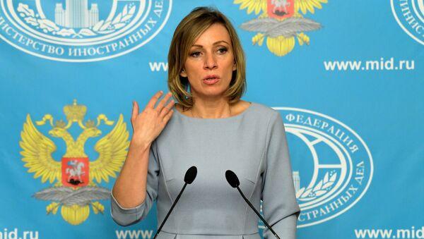 Briefing by Foreign Ministry Official Spokesperson Maria Zakharova - Sputnik International