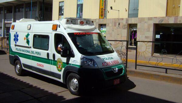Peru police ambulance - Sputnik International