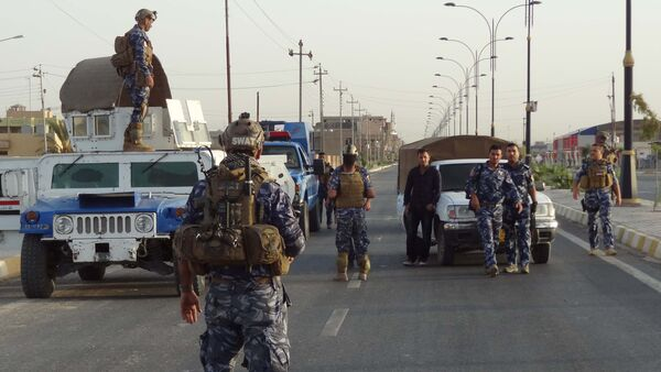 Iraqi security forces man a checkpoint in the northern city of Kirkuk (File) - Sputnik International