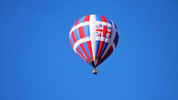 Hot air balloon with the Union Jack - Sputnik International