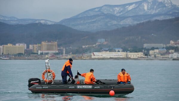 Search operation at Tu-154 crash site - Sputnik International
