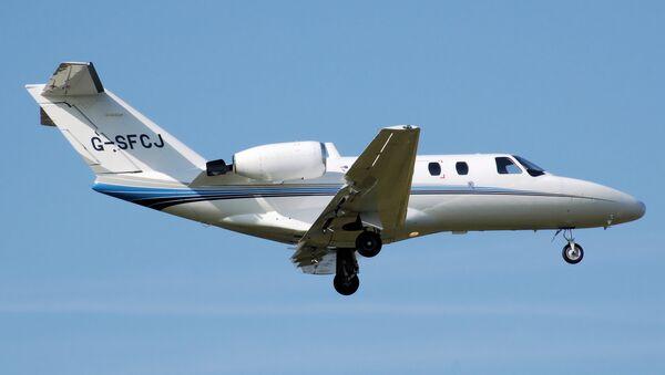 Cessna 525 CitationJet. (File) - Sputnik International