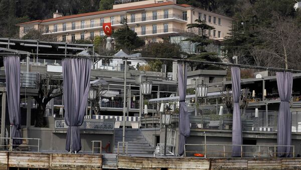 A picture shows the Reina nightclub by the Bosphorus, which was attacked by a gunman, in Istanbul, Turkey, January 1, 2017. - Sputnik International