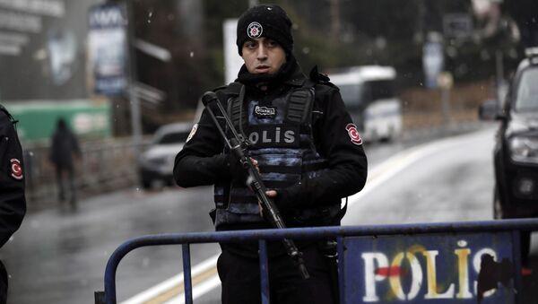 Turkish police officer. (File) - Sputnik International