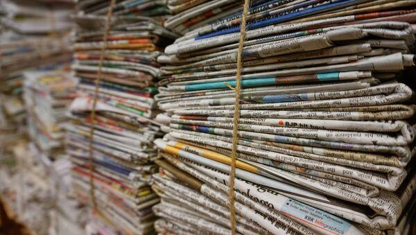 Newspapers - Sputnik International