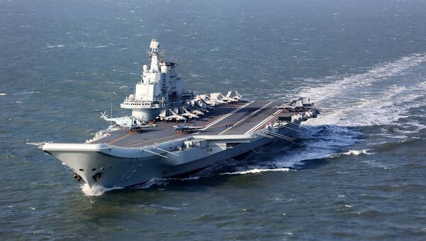 Liaoning, China's only aircraft carrier (File) - Sputnik International