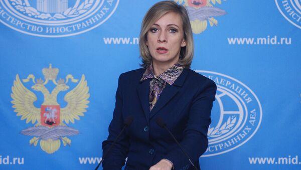Russian Foreign Ministry Spokesperson Maria Zakharova at a briefing - Sputnik International