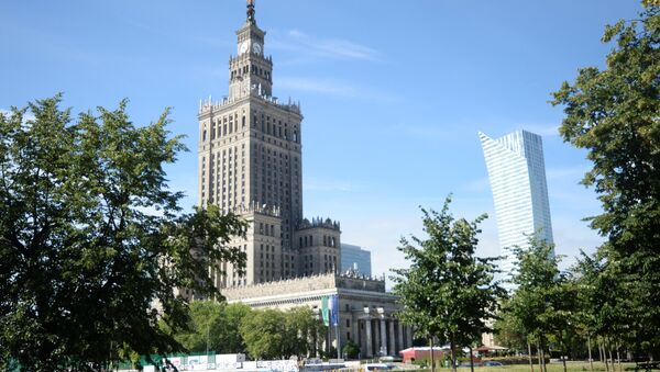 The Palace of Culture and Science, Warsaw - Sputnik International