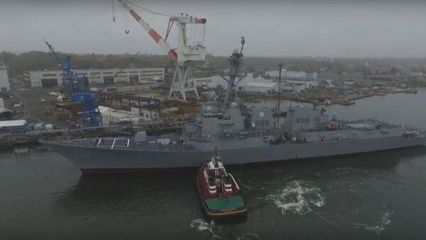 DDG 115 USS Rafael Peralta - Sputnik International