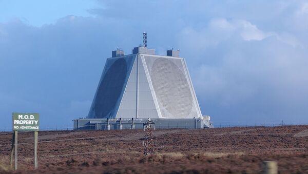 Solid State Phased Array Radar (SSPAR) (AN/FPS-132) at RAF Fylingdales, North Yorkshire, UK - Sputnik International