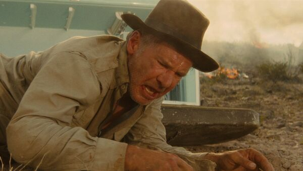 Indiana Jones and the infamous 'nuked fridge' scene - Sputnik International