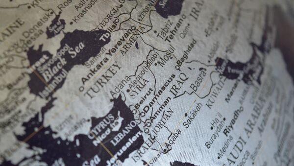 Map of the Middle East - Sputnik International