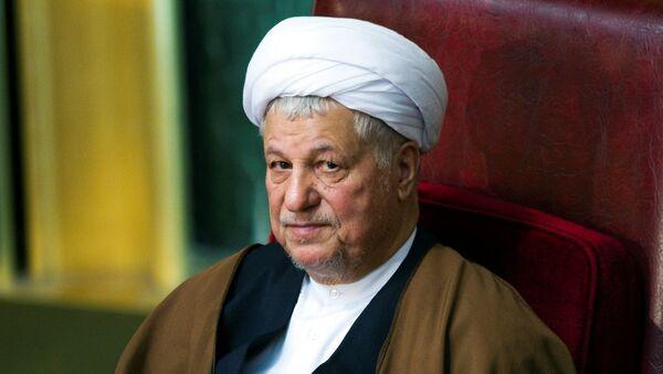 Former Iranian president Akbar Hashemi Rafsanjani attends Iran's Assembly of Experts biannual meeting in Tehran. (File) - Sputnik International