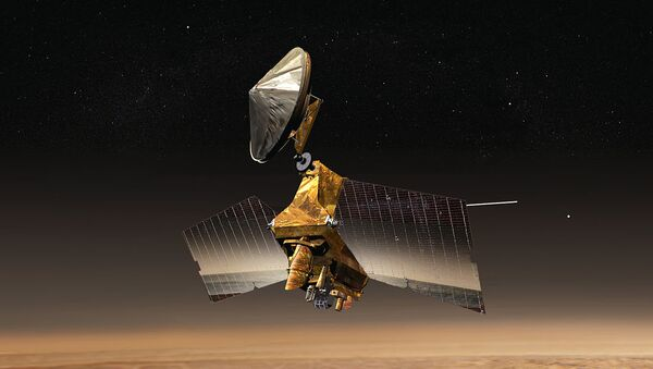Mars Reconnaissance Orbiter at Nilosyrtis - Sputnik International