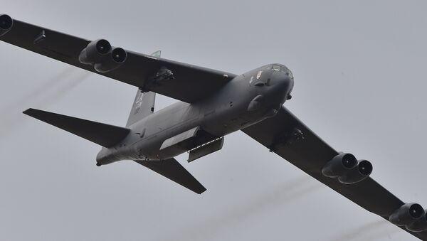 US Air Force B-52 bomber - Sputnik International