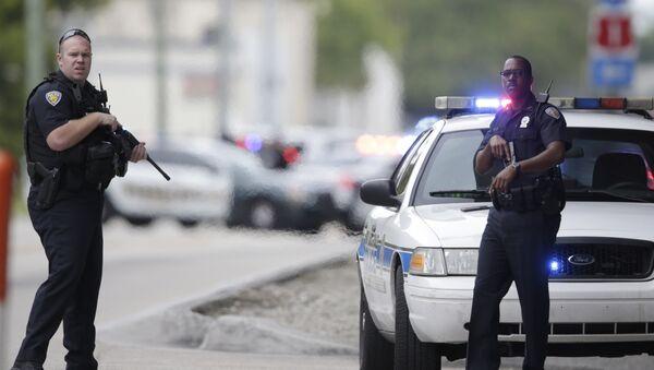 US Police officers. (File) - Sputnik International