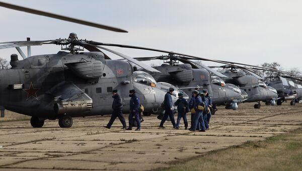 Mi-35M helicopters - Sputnik International