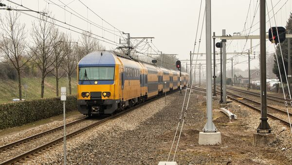 Dutch Railways train - Sputnik International