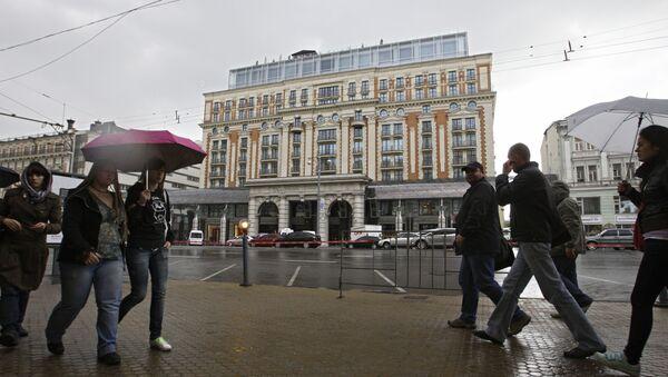 Moscow Ritz Carlton Hotel - Sputnik International