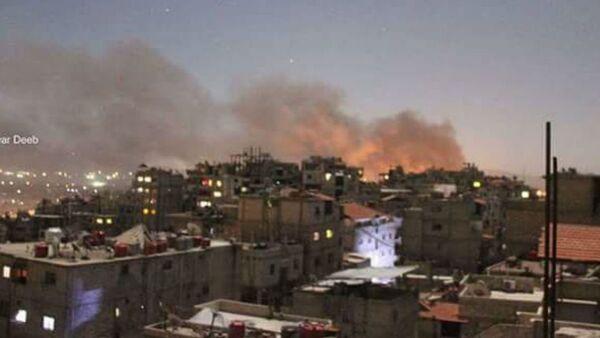Damascus explosion - Sputnik International
