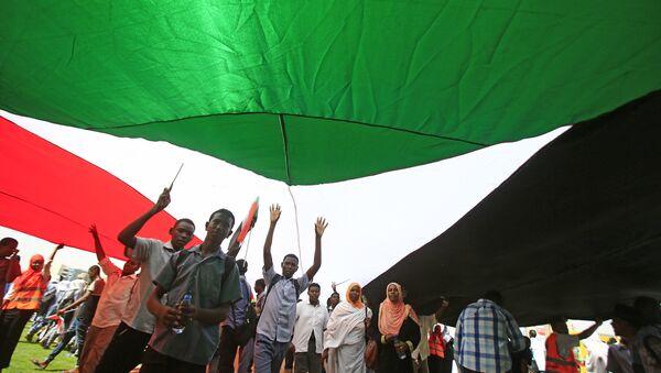 Sudanese flag - Sputnik International
