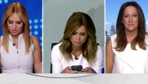 Leaked Video of Newscaster Scolding Colleague - Sputnik International