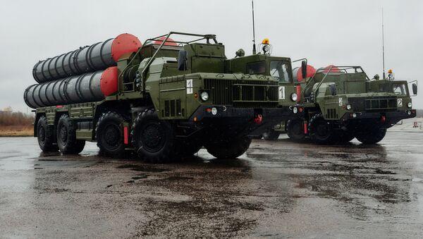 Triumf S-400 anti air missile systems  - Sputnik International