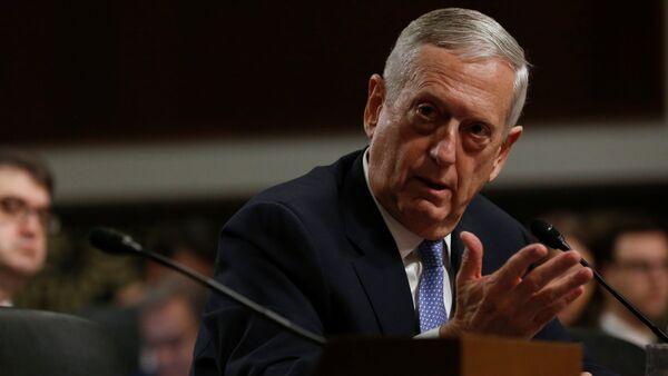 Retired U.S. Marine Corps General James Mattis testifies before a Senate Armed Services Committee hearing on his nomination to serve as defense secretary in Washington, U.S. January 12, 2017 - Sputnik International
