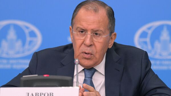 Moscow, Russia. News conference with Russian Foreign Minister Sergei Lavrov evaluating the 2016 performance of Russian diplomacy. - Sputnik International