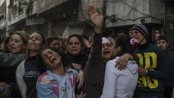 Terror attack in Homs - Sputnik International