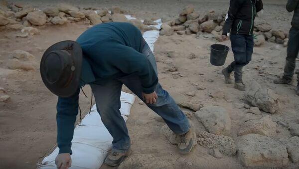 Timna Valley, Israel dig site for King Solomon-era structures. - Sputnik International