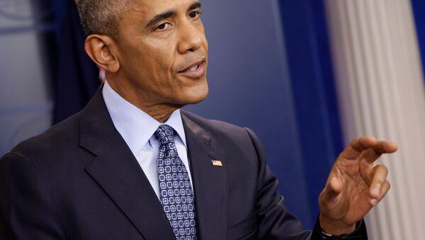 US President Barack Obama speaks during his last press conference at the White House in Washington, US, January 18, 2017. - Sputnik International