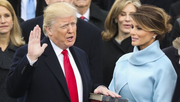 Donald Trump is sworn in as the 45th president of the United States - Sputnik International