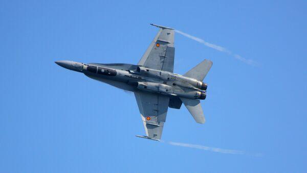 Spainsh Air Force F/A-18 - Sputnik International