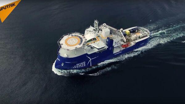 Norwegian Ships Shear Through The Waves - Sputnik International