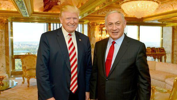 Trump Meets With Israel's Prime Minister Netanyahu at Trump Tower - Sputnik International
