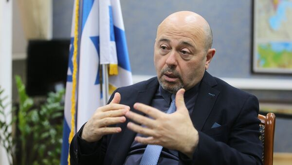 New Ambassador of Israel to Russia Gary Koren - Sputnik International