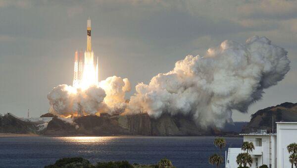Japan's First Military Communications Satellite - Sputnik International