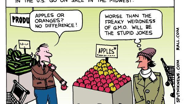 Apples or Genetically Modified Oranges - Sputnik International
