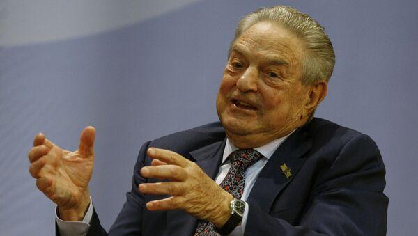 Billionaire financier George Soros - Sputnik International