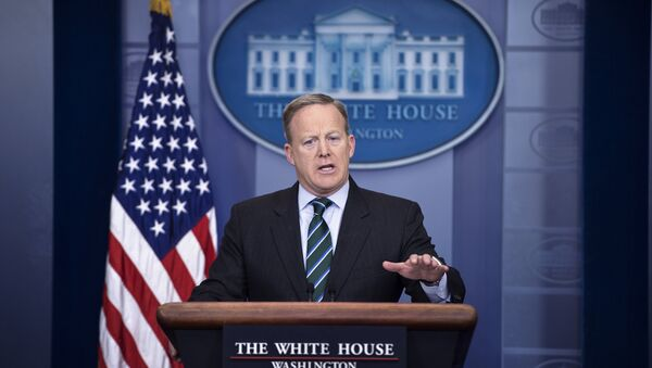 White House Press Secretary Sean Spicer speaks during the daily briefing at the White House in Washington, DC - Sputnik International