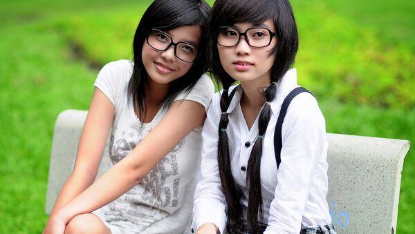 Chinese students - Sputnik International