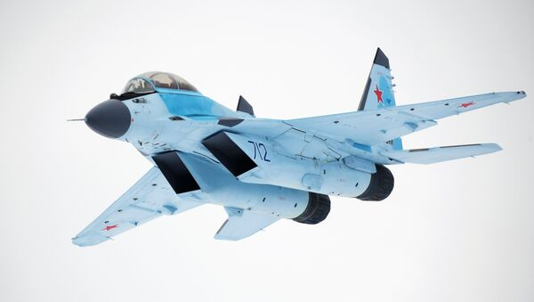 The MiG-35 aviation complex presented in Moscow Region. File photo - Sputnik International