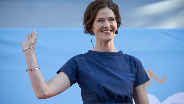 Anna Kinberg-Batra leader of center right party Alliance. - Sputnik International