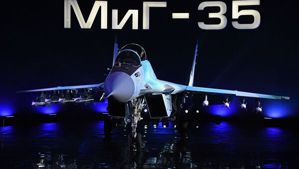 The MiG-35 aviation complex presentation in Moscow Region. File photo - Sputnik International