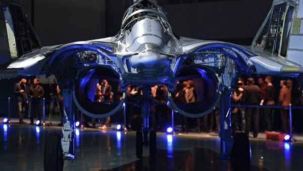 MiG 35 aviation complex presented in Moscow Region - Sputnik International