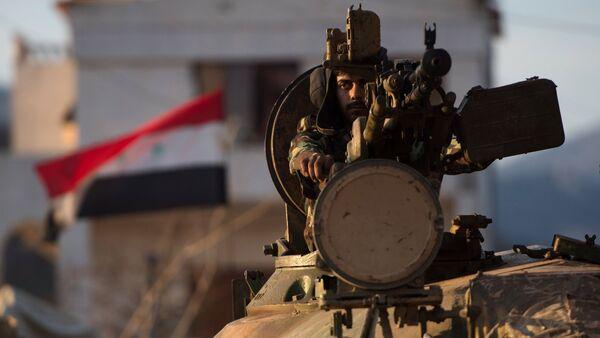 Situation at Syrian-Turkish border - Sputnik International