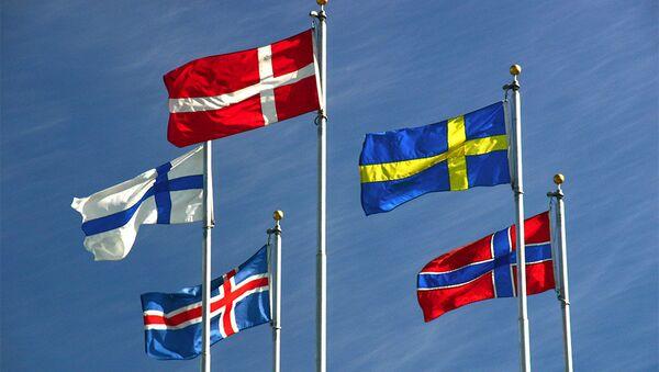 Nordic flags - Sputnik International