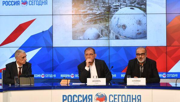 Representatives of Syrian opposition hold news conference - Sputnik International